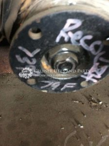 turbo front reconditioned diff centre