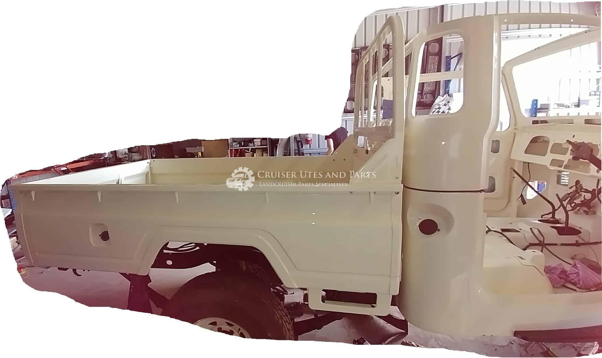 Toyota Landcruiser Tray, style side tub, 40 Series, 45 Series, 47 Series,  FJ45, HJ45, HJ47