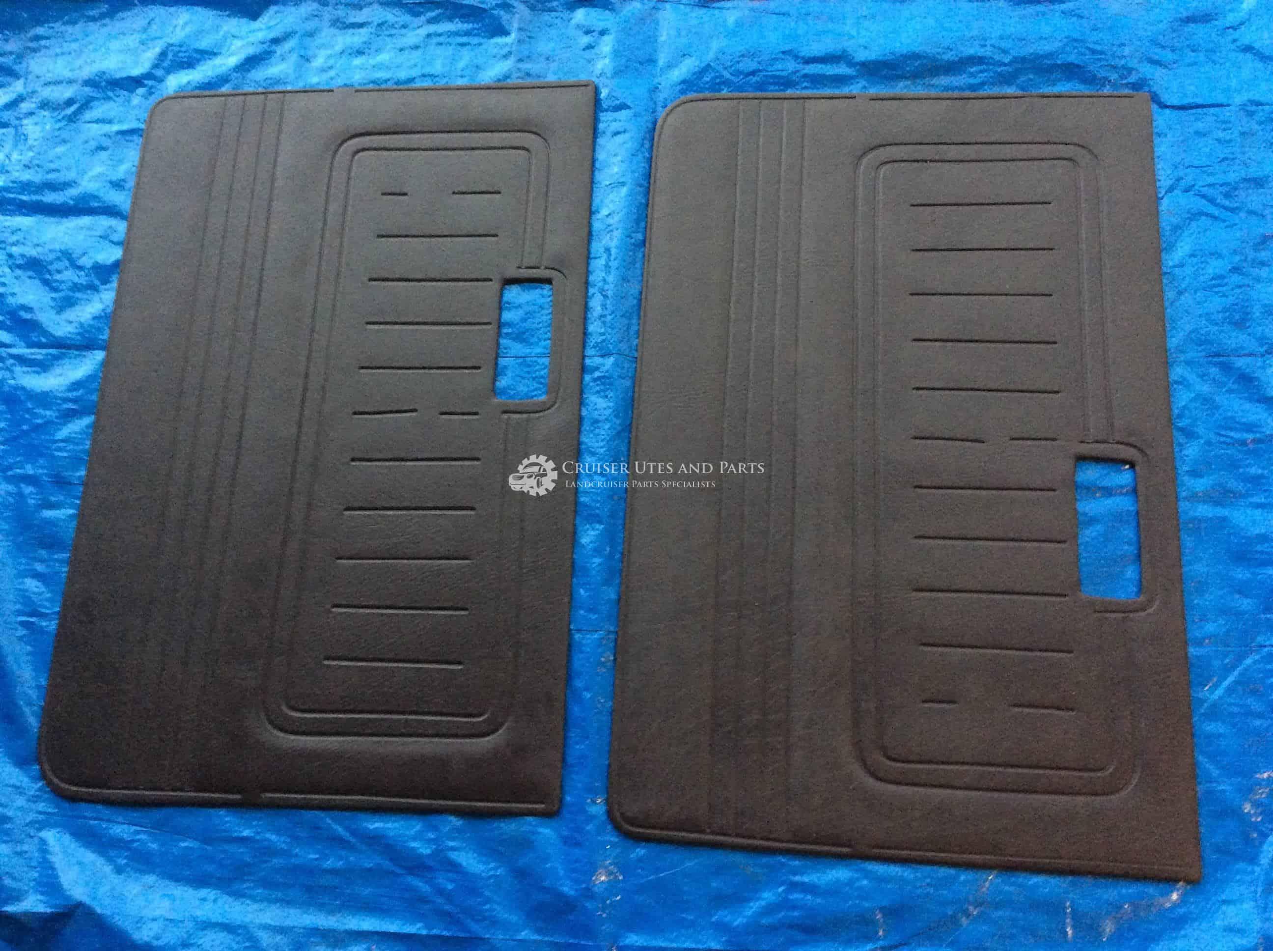 Toyota Landcruiser BROWN door card Pair door cards 40 series FJ40 HJ45 Hj47  BJ42