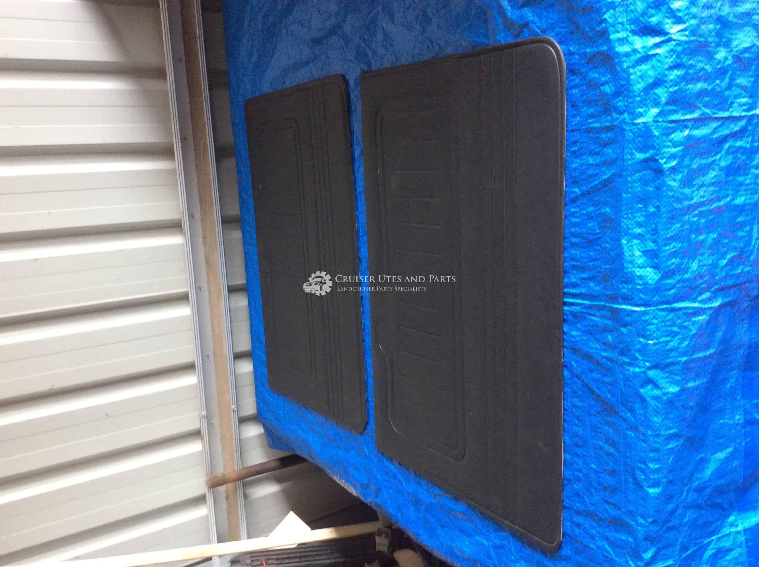 Toyota Landcruiser BLACK door card Pair door cards 40 series FJ40 HJ45 HJ47  BJ42