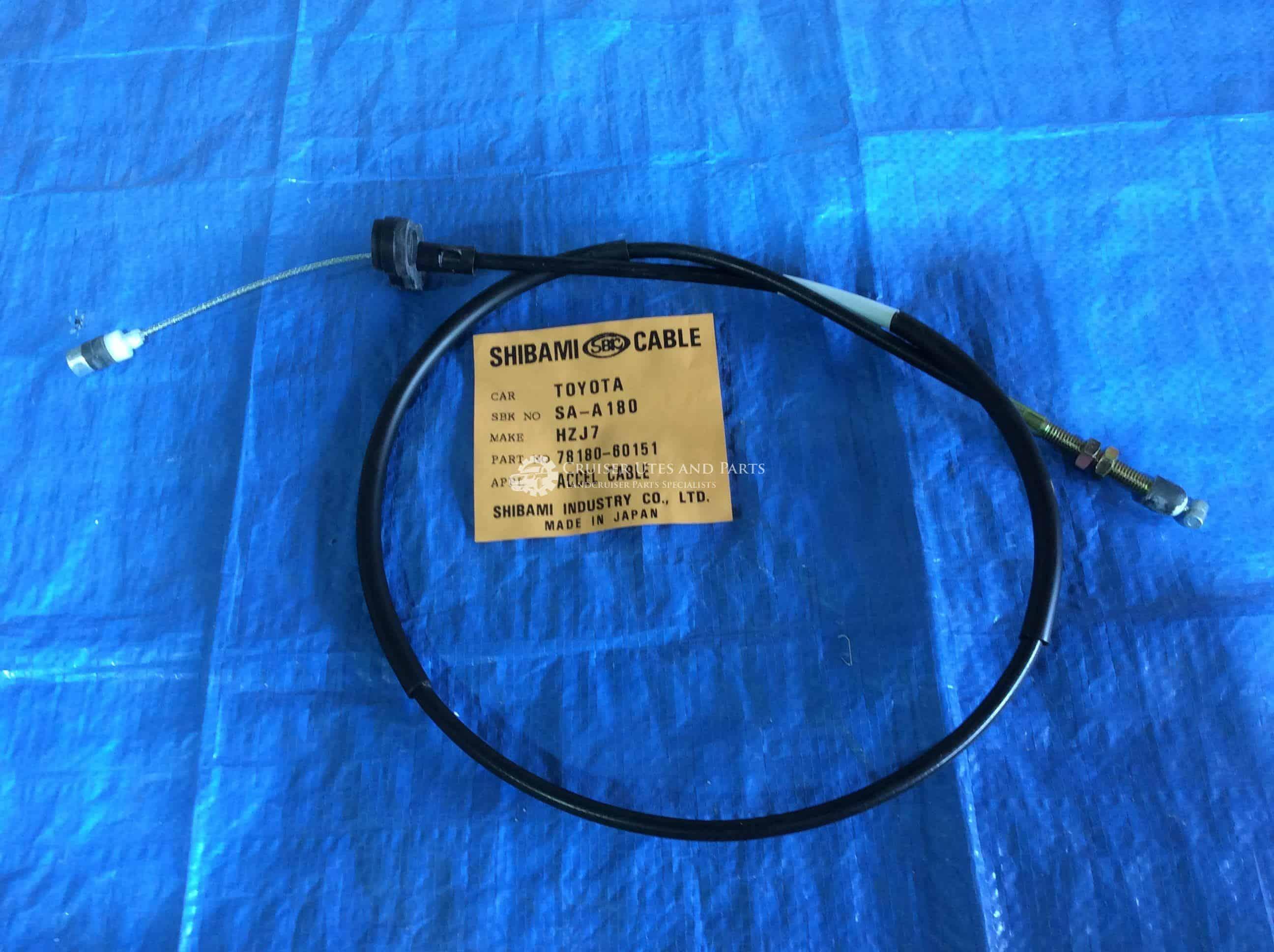 1HZ For Toyota Landcruiser HZJ75 Series Accelerator Cable