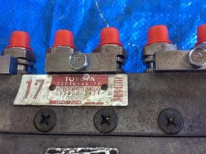 12HT Automatic Serviced injector pump