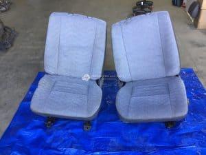 Landcruiser fabric seat pair