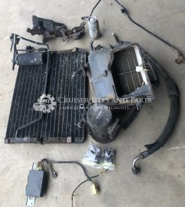 Toyota Landcruiser 2H air conditioner